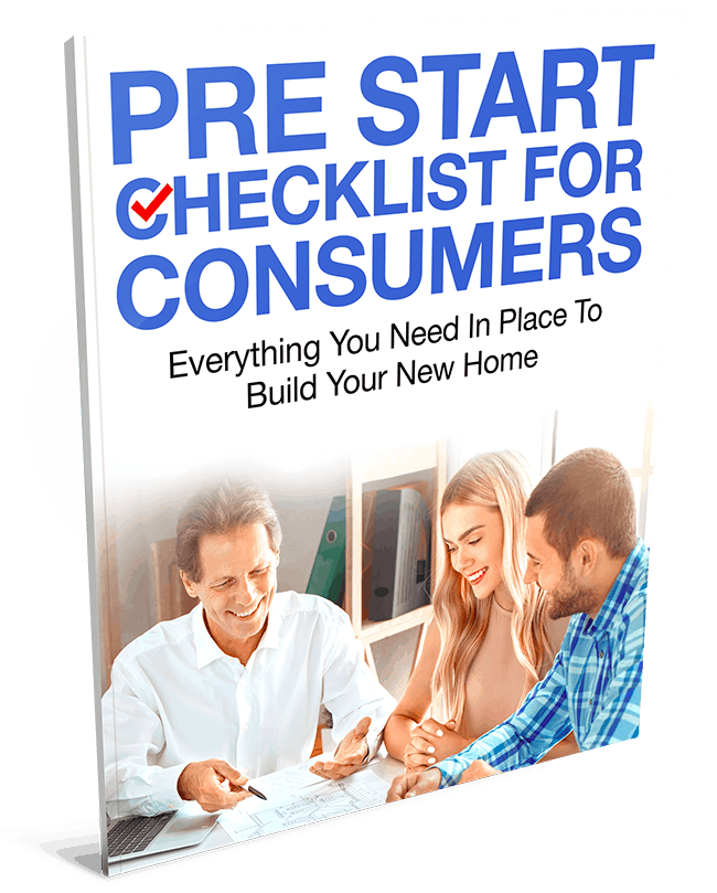 Pre Start Checklist for Consumers