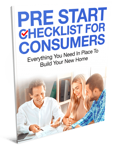 Pre Start Checklist for Consumers